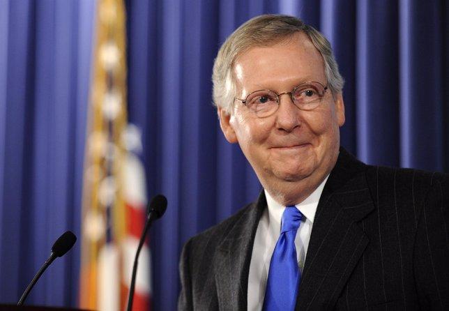 líder del Partido Republicano en el Senado de Estados Unidos, Mitch McConnell