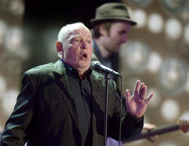 El cantante británico Joe Cocker