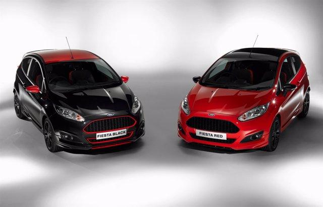 Ford Fiesta Red y Black Edition