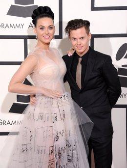 Katy Perry y su hermano