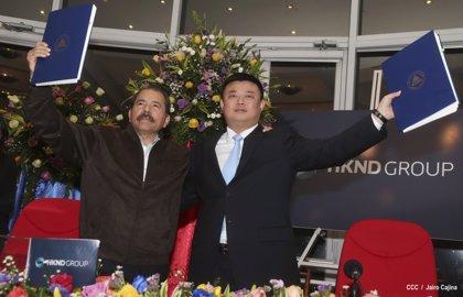 """Ortega, sobre el Canal de Nicaragua: """"Se está haciendo realidad el sueño de Bolívar"""""""