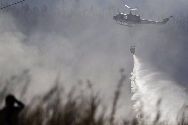 Incendio en la región chilena de Valparaíso