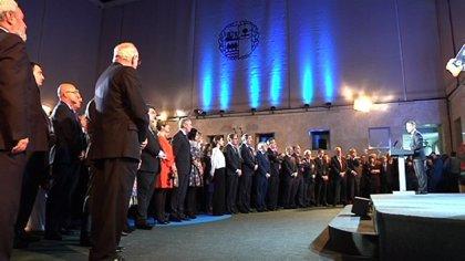 Urkullu apuesta por el acuerdo para avanzar en 2015