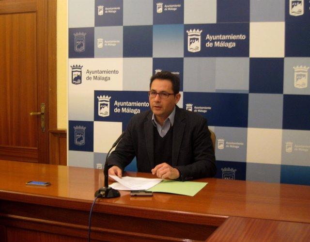 El concejal de Ordenación del Territorio y Vivienda Málaga, Francisco Pomares