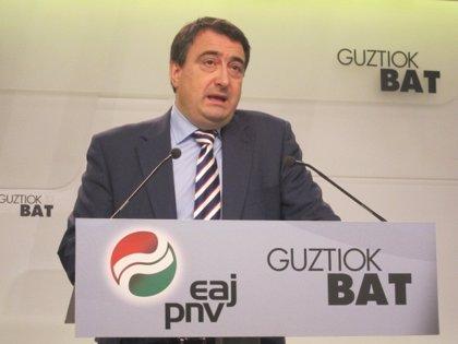 """PNV denuncia que es un mensaje """"viejo"""" y se olvida de Euskadi"""