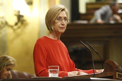 Rosa Díez espera ver a Mas sentado en el banquillo y rechaza unas plebiscitarias