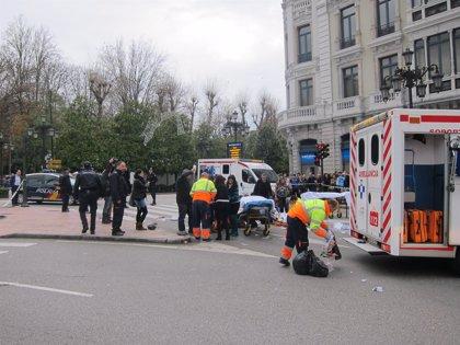 Tres de los heridos en el atropello múltiple de Oviedo siguen hospitalizados, uno de ellos grave