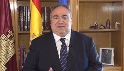 """Tirado augura un """"mejor futuro"""" para Castilla-La Mancha"""