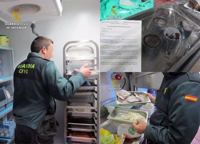 Campaña de control de alimentos de la Guardia Civil