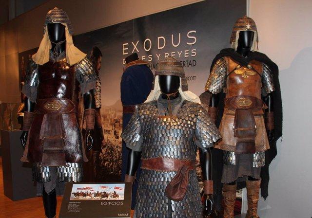 Los trajes de Exodus: Dioses y reyes