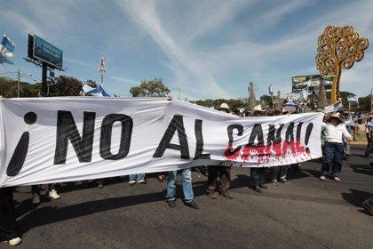 Liberan a parte de los detenidos en las protestas contra el canal de Nicaragua