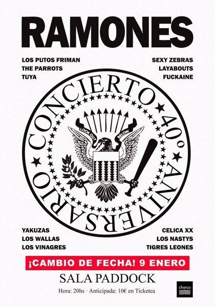 Homenaje a Ramones en Madrid con Tuya, Yakuzas, Los Nastys, The Parrots, Los Wallas y Sexy Zebras