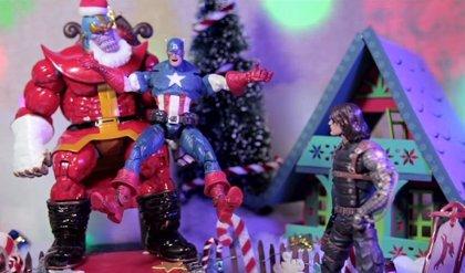 VÍDEO: Thanos, el Papa Noel de Marvel visita a Los Vengadores