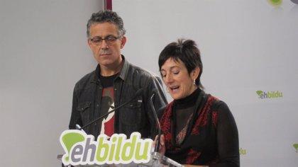 """Amaiur dice que los datos del Euskobarómetro son """"a dos años vista"""" y prefiere centrarse en la """"realidad actual"""""""