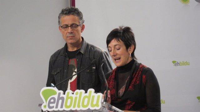 Xabier Mikel Errekondo y Maite Arsitegi