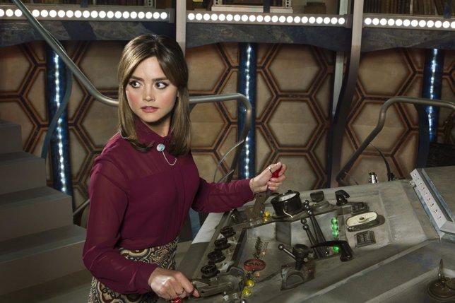 Jenna Coleman en Doctor Who