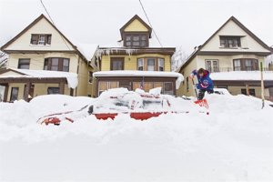 Ola de frío en Buffalo