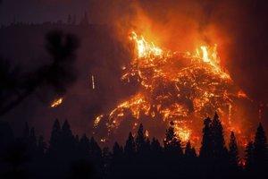 Incendio Parque Nacional de Yosemite