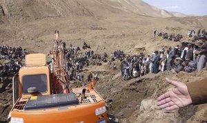 Corrimiento de Tierra Afganistán