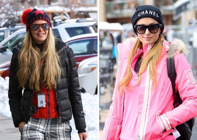 Aspen se convierte en la pasarela de moda de invierno de las celebrities