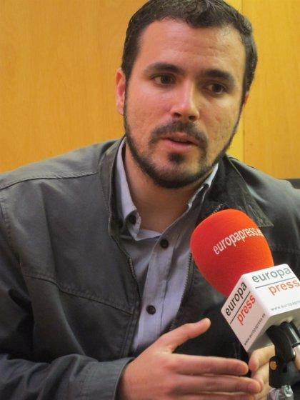 Garzón avisa que la dirección de IU cambiará tras las primarias y que quien no la respete, deberá pensar en irse