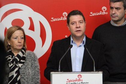 Page ofrece a trabajadores de Elcogas el apoyo presencial de dirigentes del PSOE en su protesta de este lunes en Toledo