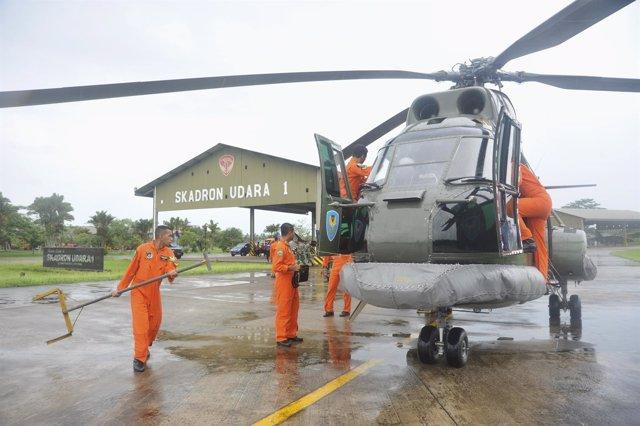Helicóptero militar indonesio