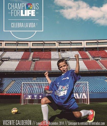 El fútbol se une para luchar contra el ébola en el Champions for Life
