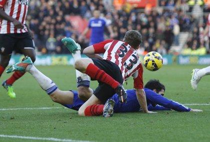 El Chelsea salva un punto en Southampton