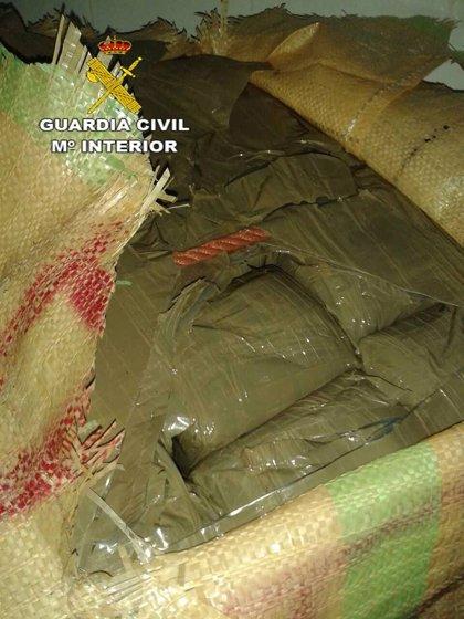 Intervenidos un total de 225 kilos de hachís en La Línea
