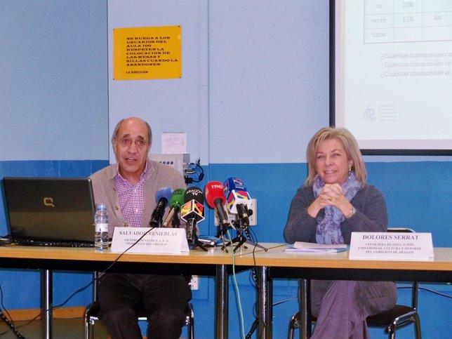 SAlvador Renieblas y Dolores Serrat