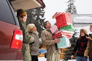 Viajes con la familia en Navidad