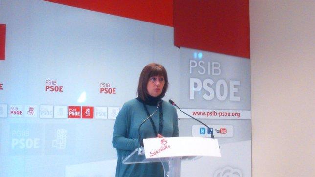 La secretaria general del PSIB, Francina Armengol