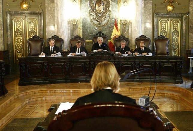 Pleno en el Tribunal Supremo