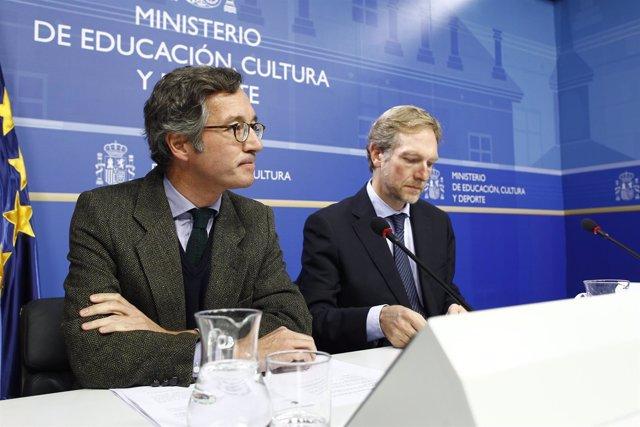 José María Lasalle y Miguel Ángel Recio