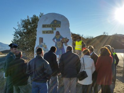 'La Mojaquera' vuelve a recibir a los visitantes de Almería junto a la A-92