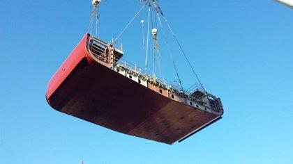 La Naval coloca la quilla del Ferry Texelstroom