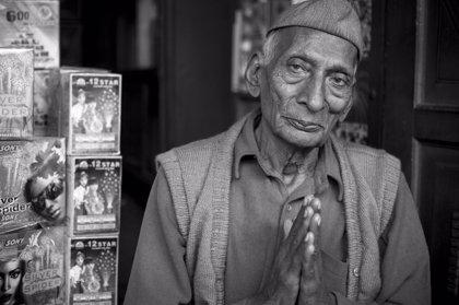 La exposición fotográfica sobre la India aún puede visitarse en el Corte Inglés de Badajoz