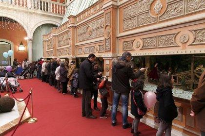 RSC.-La Fundación Cajasol cierra 2014 con 400.000 visitas a su Belén