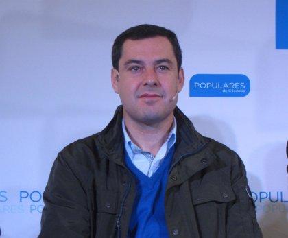 """Moreno (PP-A): """"El futuro mejor le llegará a Andalucía sin Susana Díaz ni el PSOE"""""""