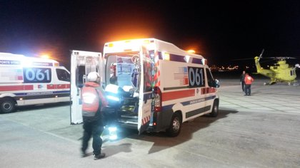 Evacuados dos esquiadores heridos en Alto Campoo