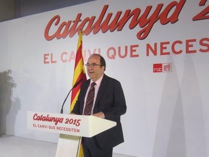 El PSC urge a Mas y Rajoy a poner los pies en el suelo y no perder más tiempo