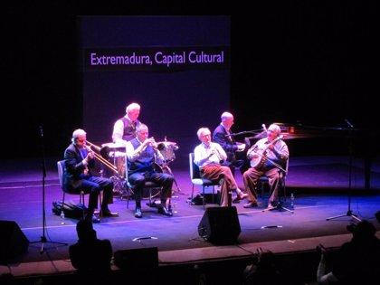 Woody Allen ofrece en Badajoz uno de sus tres conciertos en Europa