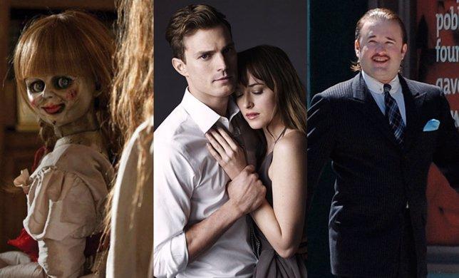 Top 10 de cine en Culturaocio con 50 sombras de Grey y Annabelle