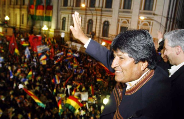 Evo Morales expresa sus deseos para 2015