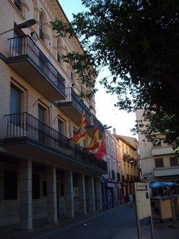Sede Del Ayuntamiento De Alagón (Zaragoza)