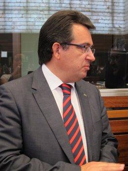 El Rector De La Universidad De Burgos, Alfonso Murillo
