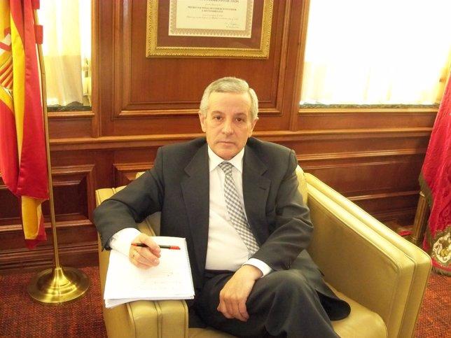 El alcalde de León, Emilio Gutiérrez