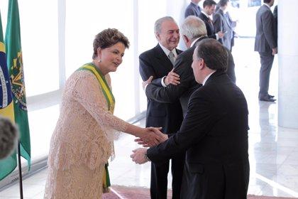 Meade le expresa a Rousseff su deseo de que México y Brasil fortalezcan lazos