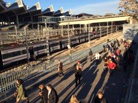 Vuelven a circular los trenes de Renfe y Metro en Atocha
